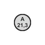 Ø21,3 mm