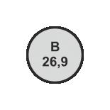 Ø26,9 mm