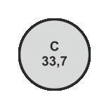 Ø33,7 mm