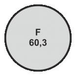 Ø60,3 mm