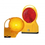 Road hazard warning lamps