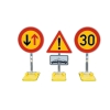 Temporary traffic signs