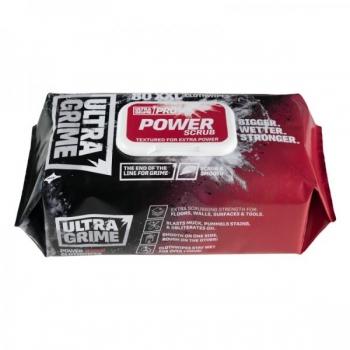 UltraGrime® Pro Power Scrub - Pack of 80 wipes