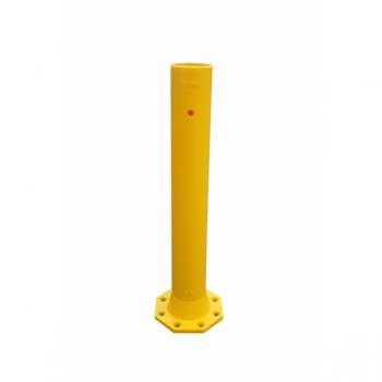 Elastne turvapost Ø140 H1000mm, kollane