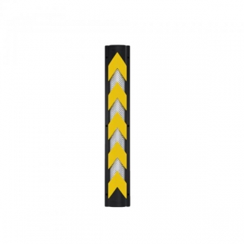 Column protector PVC with reflective