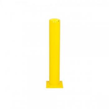 Metallist turvapost tallaga Ø159 mm H1000 mm, kollane