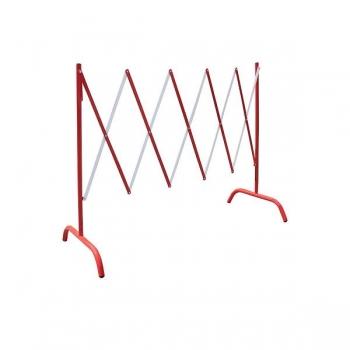 Pikendatav barjääraed 2,3 m, punane-valge