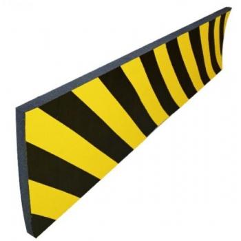Hoiatuskaitse kollane/must 300x1000x20mm