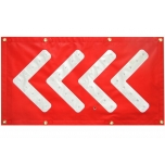 LED arrow mat, red