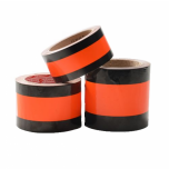 Temporarily Neutralizing Traffic Sign Tape, 75 mm x 33 m, Orange-Black