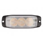 LED pindvilkur LEDx3, 12-24V, kollane