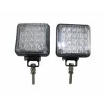 LED lisatuli 20xLED, kollane 24V, poltkinnitusega (2tk komplektis)