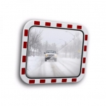 """Liikluspeegel """"Ice-free"""" 600x800 mm  punase-valge raamiga"""