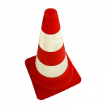 Foot cone 50cm red/white