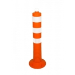 Flex post RA2 helkurkleebistega oranz, Ø110 H750mm