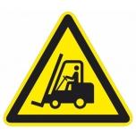 """Hoiatusmärk """"Liikuv veok"""", põrandakleebis"""