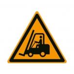 Caution floorsign: forklifts