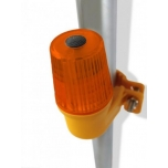 Site safety LED lamp – side mount