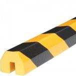 Hoiatuskaitse BB, kollane-must, 1000 mm