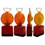 Safety lamp 1-sided, yellow
