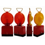 Safety lamp 1-sided, red