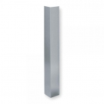 Stainless steel corner protector 65x65mm L=1000mm