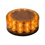LED vilkur 2P Baquda, magnetiga, kollane