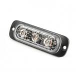 Super Thin - ST3, 3 LED, punane