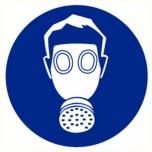 Mandatory sign: Respirators Must Be Worn