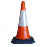 Foot cone 750cm rubber base