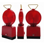 Safety lamp 2-sided, red