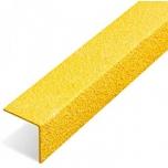 Libisemisvastane plaat nurgaga 1000x55x55mm, kollane