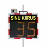 Radar Speed Sign with camera