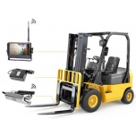 Camera system for forklift, wireless