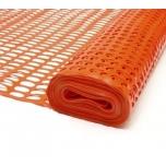 Ohutusvõrk H100mm, rullis 50m, oranz