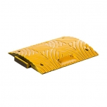 Speed bump middle element, PVC yellow