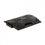 Speed bump middle element, PVC H50 black
