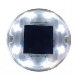 Solar LED Post Light, white