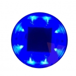 Solar LED Post Light, blue