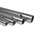 Round steel tube galvanized D=27mm