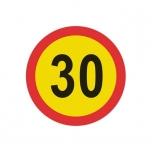 Ajutine LM 351 - Suurim kiirus 30 km/h