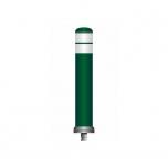 Flex linnapost ankruga Ø130 H=800 roheline, valge helkur