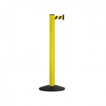 Belt post Classic Safety 2,3 m yellow-black