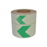 WT-5127 luminescent longlive scratch resistent with green arrow
