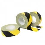 WT-5561 warning tape yellow/black 50mm x 50m