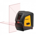 Red laser crossliner, 15m (50m with sensor), 2 laser beam,