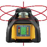 NL610 Multi-purpose rotation laser level- numeric elevation