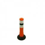 Flexible post Ø80 H450mm , orange