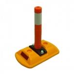 Mini seperator with mini flexible post 260x160x280 mm, orange