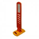 Mini seperator with high indicator 260x160x600 mm, orange